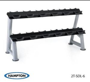 Hampton Commercial Grade Dumbbell Rack for Sale in San Diego, CA