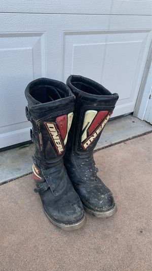 O'Neal riding boots size 12 for Sale in Upland, CA