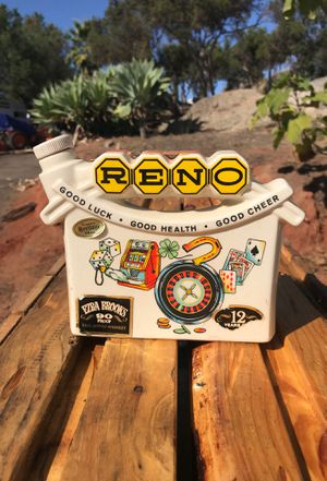 RENO Antique whiskey bottle for Sale in Alpine, CA