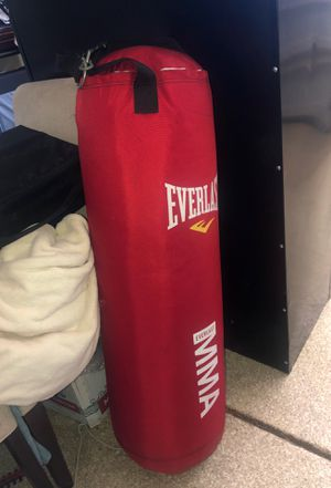Punching bag & pull up bar set up for Sale in Lakeside, CA