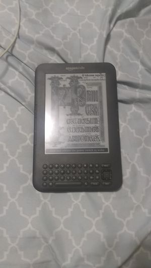Amazon Kindle and case for Sale in Indianapolis, IN