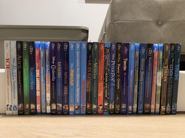 Disney Blu-ray movie collection