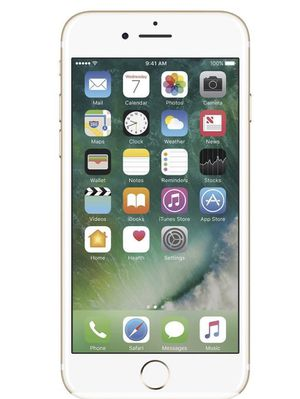 Apple - Pre-Owned iPhone 7 4G LTE with 32GB Cell Phone (Unlocked) - Gold for Sale in Frederick, MD