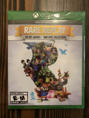 Rare Replay for Microsoft Xbox One. Brand New & Sealed. for Sale in Brentwood, CA