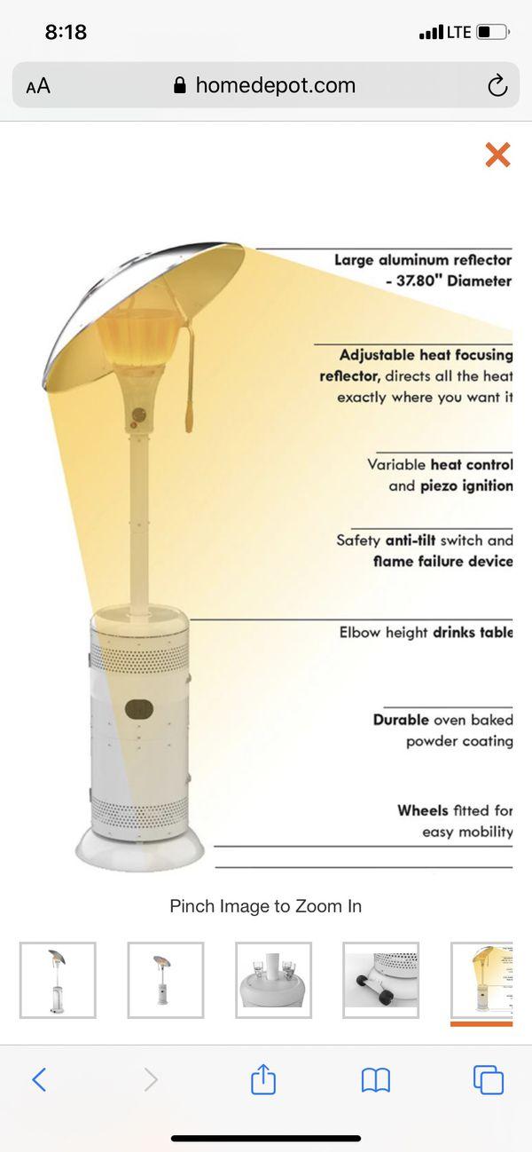 Patio heaters XL