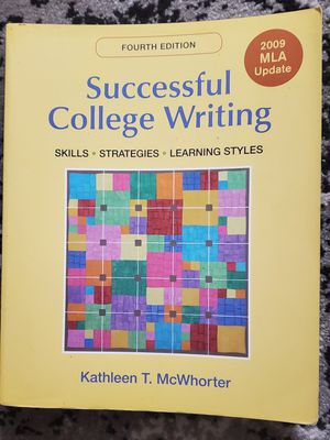 Successful College Writing 4th Ed (Kathleen T. McWhorter) for Sale in Buena Park, CA