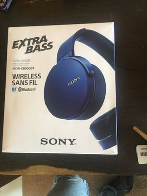 Sony Extra Bass Headphones - New in Box! for Sale in Riverside, CA