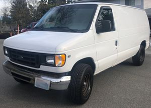 2002 Ford E-350 5.4L V8 Cargo Van for Sale in Bellevue, WA