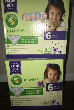 Diapers size 6 for Sale in Grand Prairie, TX