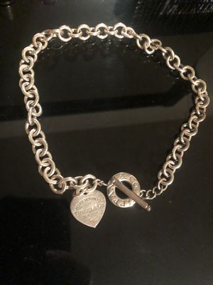 Tiffany co Heart tag necklace for Sale in Cleveland, OH