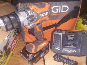 Ryobi 18v OCTANE hammer drill for Sale in San Antonio, TX