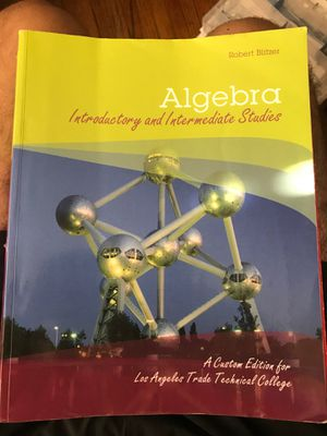 Algebra Robert blitzer lattc for Sale in Lynwood, CA