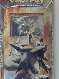 Pokemon Burning Shadows Rock Steady Theme Deck New Sealed Free Shipping for Sale in Tampa,  FL