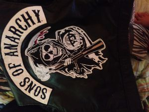 Sons Of Anarchy motorcycle vest for Sale in Valley View, OH