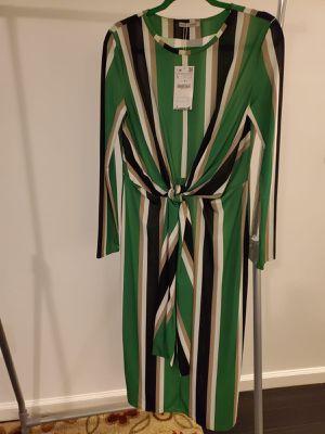 Zara striped, fitted dress for Sale in Alexandria, VA