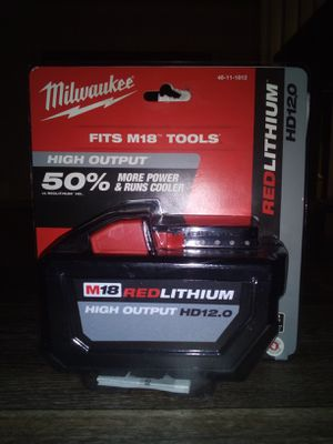 Brand new Milwaukee M18 12.0 battery for Sale in Everett, WA