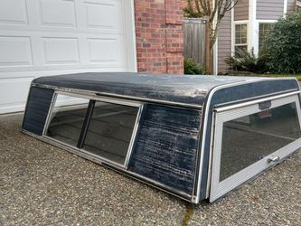 Truck Canopy Camper With Clamps for Sale in Gig Harbor,  WA