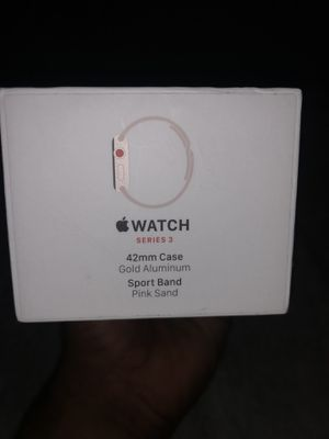 Apple Watch 3 42mm gps and cellular for Sale in Dallas, TX