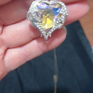 Silver (925) Heart Pendant Neclace. for Sale in Banning, CA