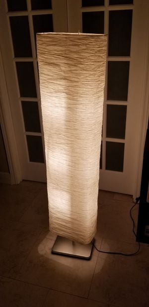Paper Floor Lamp for Sale in Lauderdale Lakes, FL