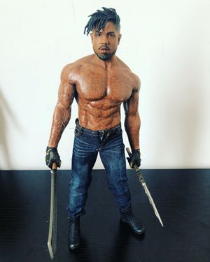 1/6 hot toys custom killmonger for Sale in Saint Charles, MD