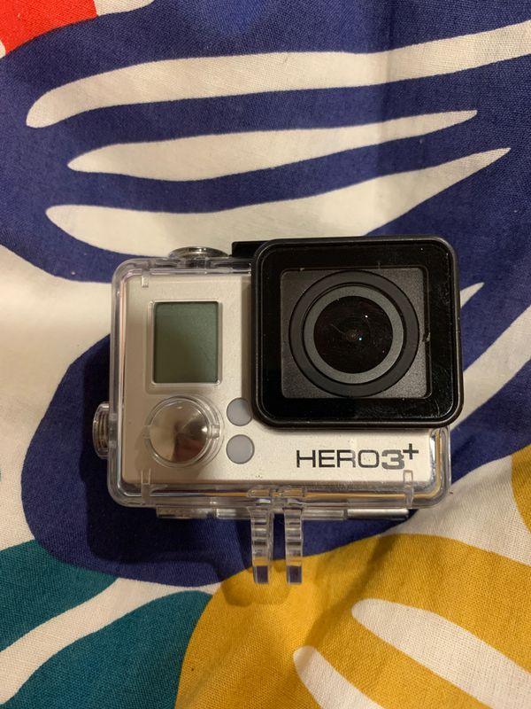 GoPro Hero 3+ and housing
