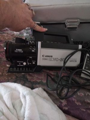 Cannon video camera for Sale in Longview, TX