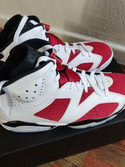Jordan 6 Retro Carmine (2021) Size 10.5 for Sale in Fullerton,  CA