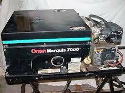 Onan Marquis RV Generator 7000 Watts Gas, Cummins Onan 7.0HGJAB-6756 for Sale in Graham, WA