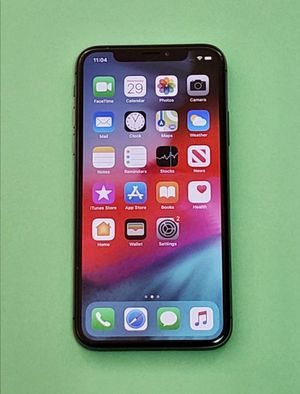 iPhone X 64Gb Factory Unlocked for Every Carrier Company Every Country for Sale in Garner, NC