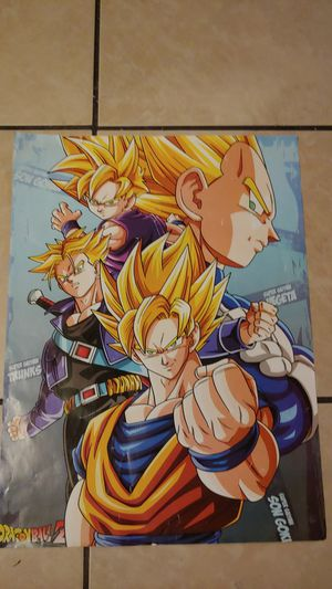 500-piece Dragon Ball Z Super Serious Poster for Sale in San Jose, CA