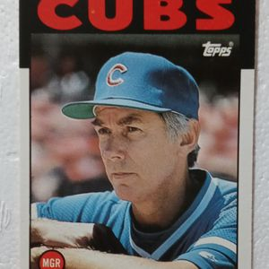 set of 3- 1986 Topps Cubs Collectible Cards for Sale in Chicago, IL