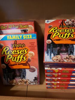 Lil Yachty's REESE'S PUFFS cereal for Sale in Fresno,  CA