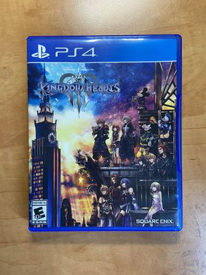Kingdom Hearts 3 PS4 Video Game Good Condition for Sale in West Covina, CA