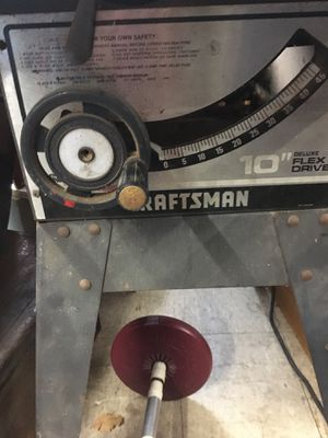 Old craftsman Table Saw for Sale in Bridgeview, IL