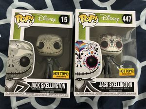 Funko Pop Nightmare Before Christmas Jack Skellington hot topic exclusive for Sale in Garland, TX