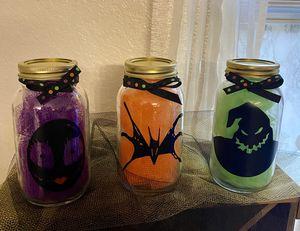 Inspired Nightmare Before Halloween Jar Set for Sale in Lakeland, FL