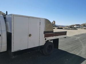 Utility bed Flatbed 12 foot $1500 has water tank in the middle. 661,,,208,,,5060..ls swap c10 bagged Chevy Ford Cummins diesel chevelle jdm datsun for Sale in Los Angeles, CA