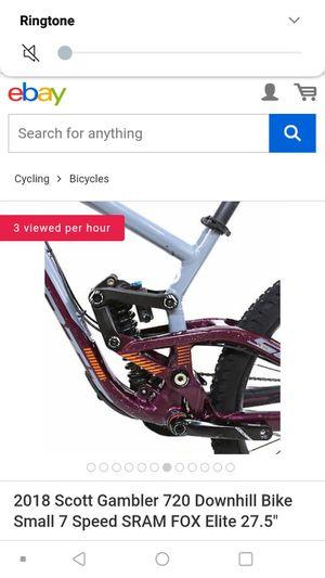 Scott gambler downhill mountain bike sick AF for Sale in Denver, CO