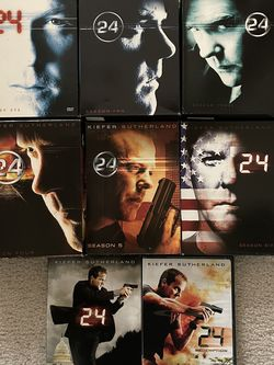 Kiefer Sutherland 24 Seasons 1-7 + Redemption for Sale in Allen,  TX