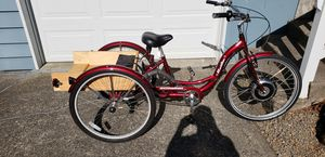 Electric Bicycle Tricycle for Sale in Lake Oswego, OR