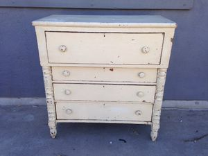 Antique high boy dresser with old paint for Sale in Los Angeles, CA