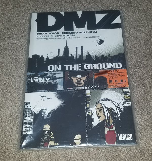 DMZ Comic Book