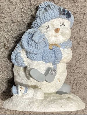 The Encore Group 2000 Holiday Christmas In July Buddies Snowman Snowball Figurine Home Decoration Accent for Sale in Chapel Hill, NC