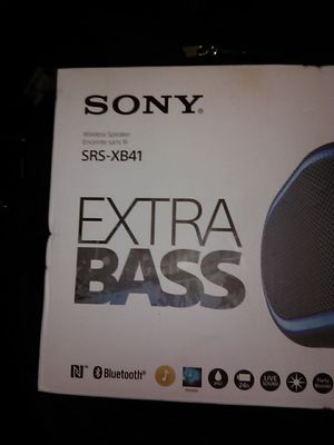 Sony extra bass Bluetooth speaker for Sale in San Diego, CA