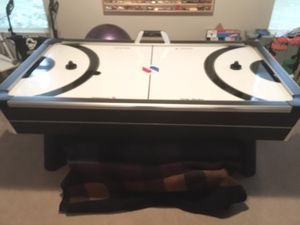 "Sportcraft Turbo Air Hockey table with lights and sounds, 48""W x 84""L x 30""H for Sale in MONTGMRY, IL"