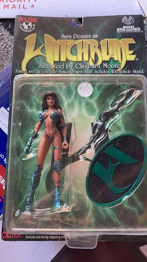 Witchblade comics action figure Sara pezzini for Sale in San Antonio, TX