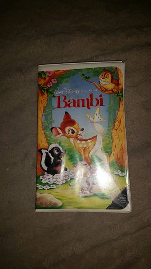 Original Bambi on VHS for Sale in Los Angeles, CA