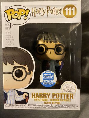 Harry Potter in Invisibility Cloak Fubko pop #111 for Sale in Durham, NC