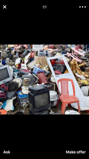 Junk removal the lowest prices around and a free quote 9–1–9–4/08:64(8—4. Just give me text or call for Sale in Raleigh, NC